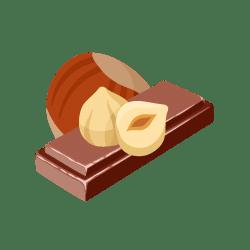 Riz-noisette-chocolat ❤