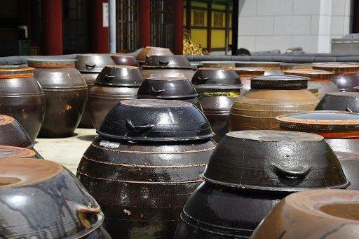 Processus de fabrication du kimchi en Corée du Sud
