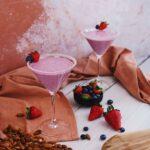 Le combo à boire de l'été : un smoothie végétal et naturel, plein de ferments et de fruits frais !
