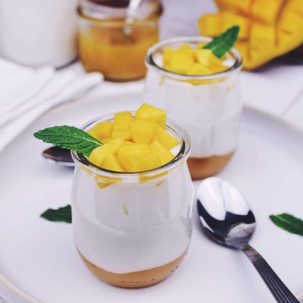 Une recette aux saveurs exotiques dans un yaourt végétal aussi doux que crémeux.