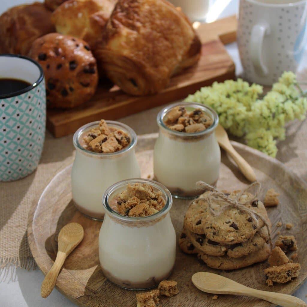 Le goût incontournable du cookie dans un yaourt veggie donne une superbe saveur et une texture plus que crémeuse !