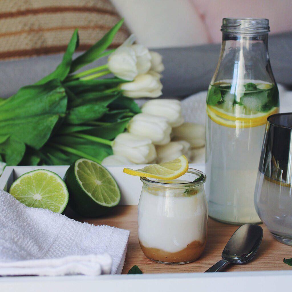 La douce saveur de l'amande relevée par l'acidité du citron dans un réel dessert fruité !